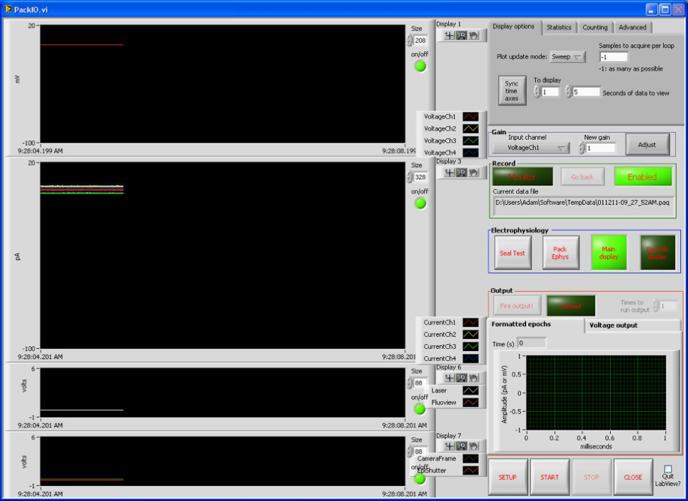 Free alternatives to commercial electrophysiology software