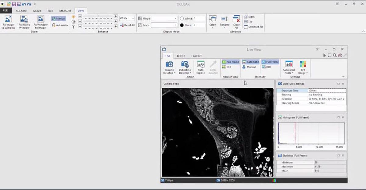 QImaging Ocular Software