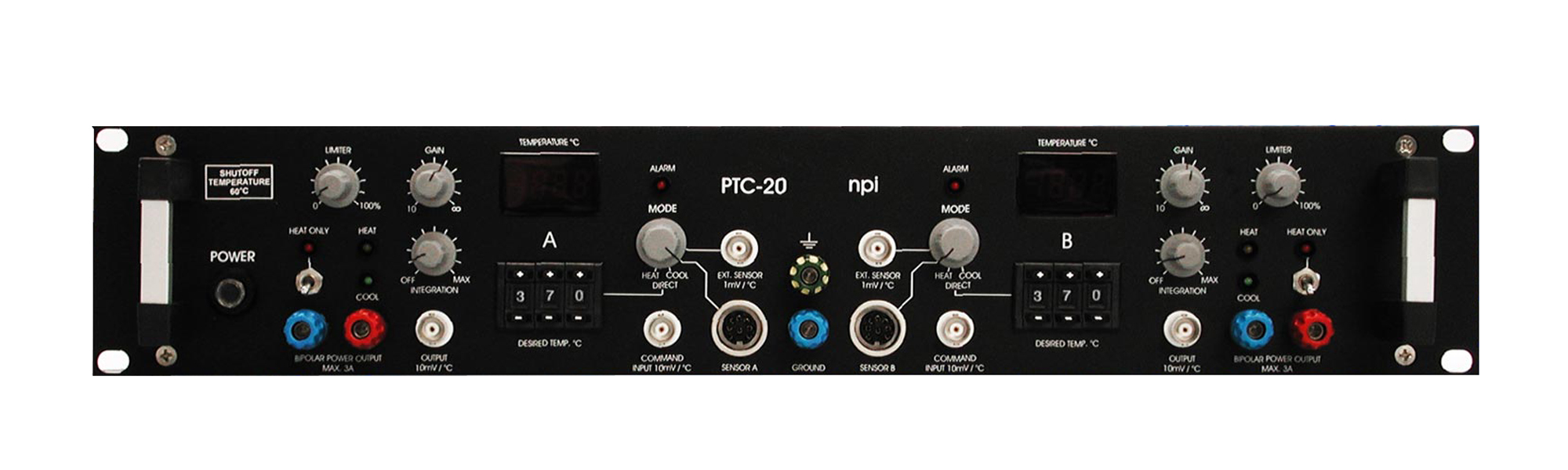 npi electronic PTC-20 Two Channel Controller