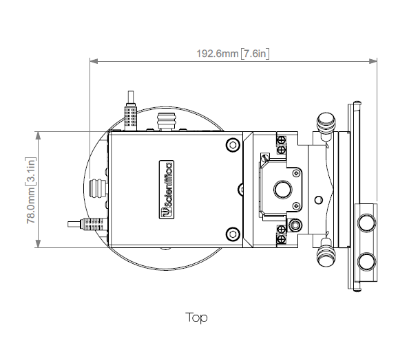 PatchStar Micromanipulator Low Profile Schematic